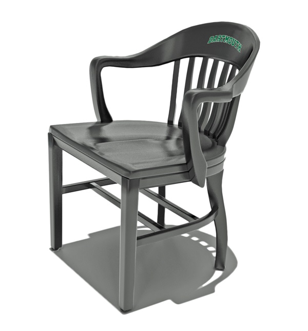 The Dartmouth  Chair with green Dartmouth logo