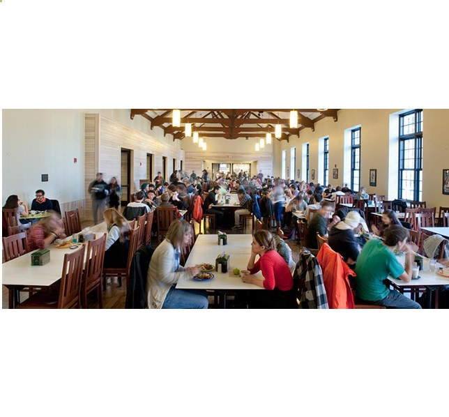 Dartmouth Lunchroom on campus