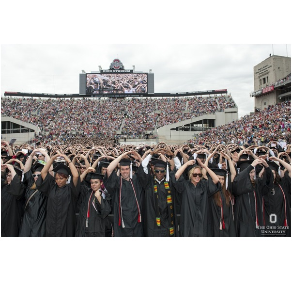 OSU Spring Commencement Graduation in Stadium' from  OSU Marketing & Communications Gallery