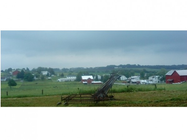 Amish Farms near Mt. Hope Ohio
