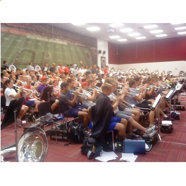 Ohio State  OSU Marching Band Rehearsal 2012
