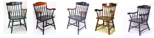 Other Popular College Chairs. Affinity Traditional Captains Chair