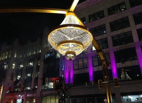 CSU   beautiful Chandelier at night  f Brian Breitholz  20151112