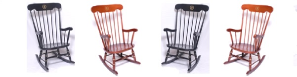 Affinity Traditional College Rocking Chair
